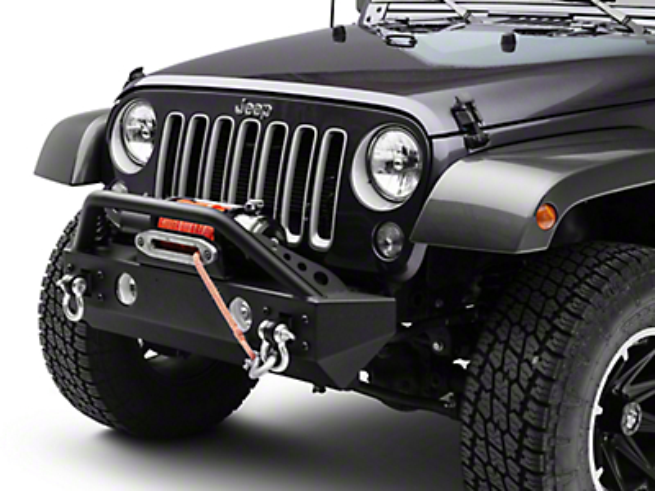 Teraflex Front Explorer Bumper w/ Hoop Kit (07-18 Jeep Wrangler JK)