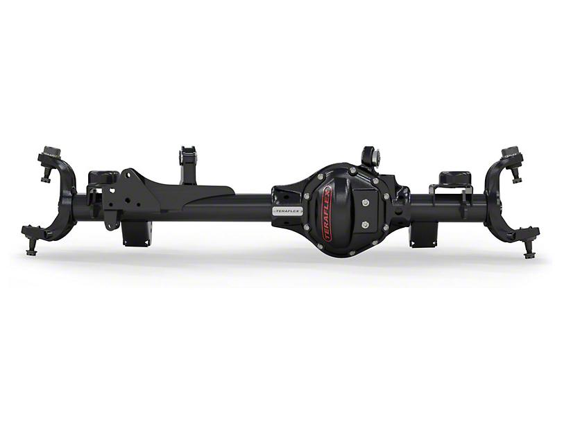 Teraflex Front Tera44 Axle Housing w/ 4.56 Gears & OEM Locker for 4-6 in. Lift (07-18 Jeep Wrangler JK Rubicon)