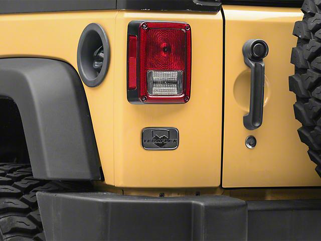 Teraflex License Plate Delete Badge (07-18 Jeep Wrangler JK)