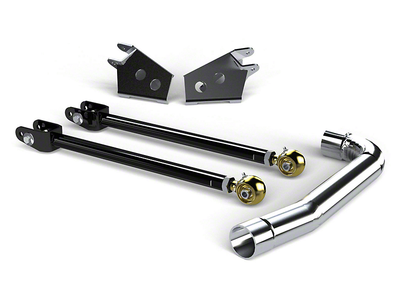 Teraflex Pro LCG Front Upper Long FlexArm Kit with Brackets (97-06 Jeep Wrangler TJ)