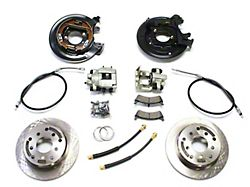 Teraflex Rear Disc Brake Conversion Kit with E-Brake Cables (97-06 Jeep Wrangler TJ)