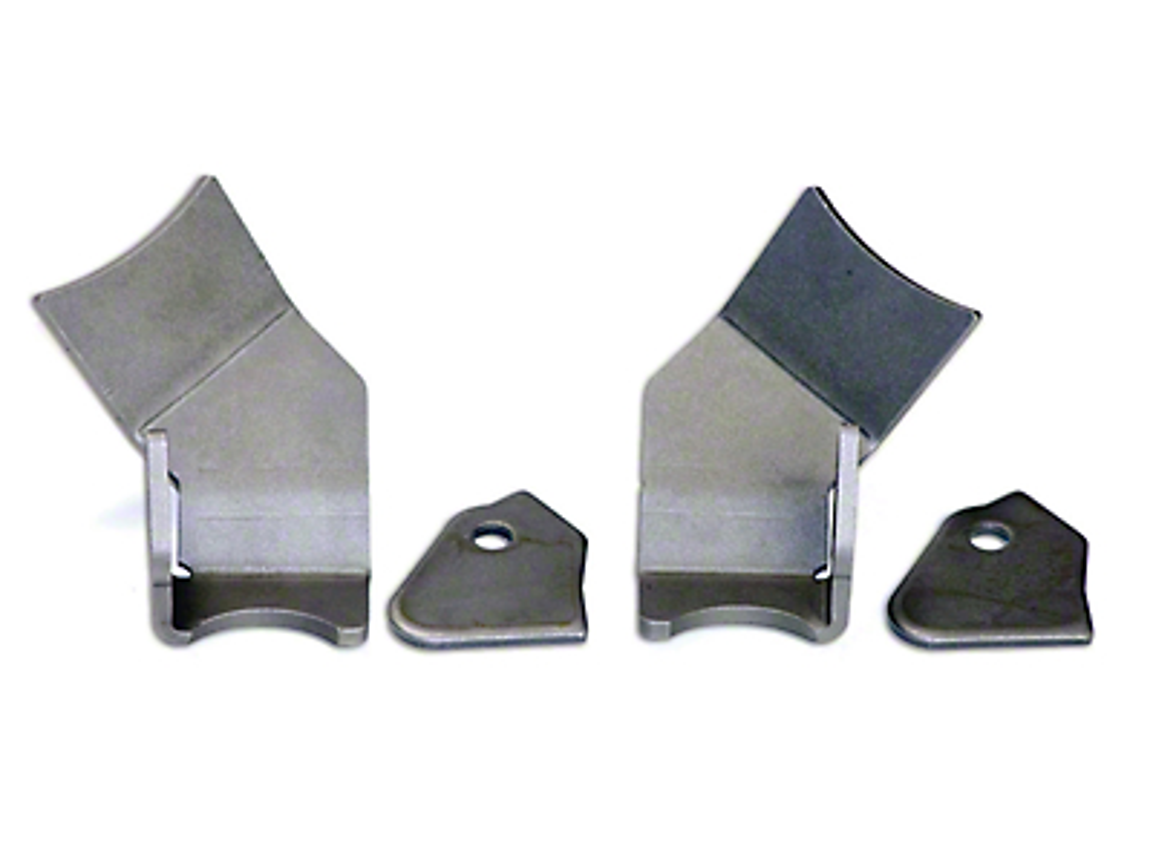 Teraflex Rear Lower Control Arm Skid Plate Kit (07-18 Jeep Wrangler JK)