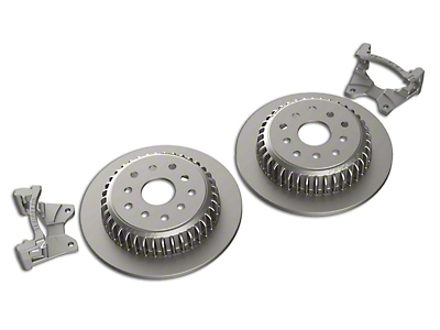 Teraflex Rear Performance Big Rotor Kit (07-18 Jeep Wrangler JK)