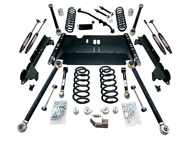 Teraflex 3-Inch Enduro LCG Suspension Lift Kit with 9550 Shocks (97-06 Jeep Wrangler TJ)