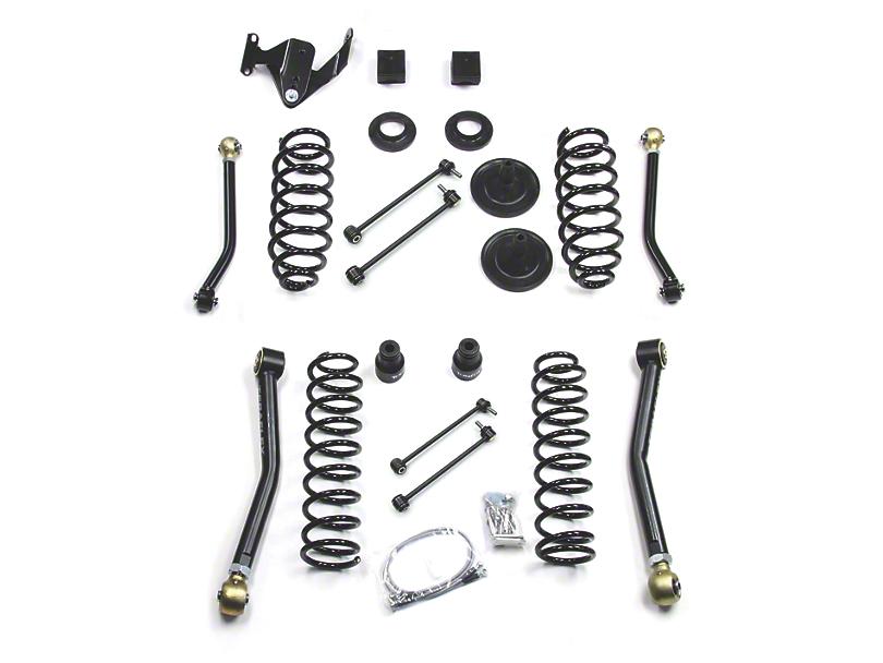 Teraflex 3 in. Suspension Lift Kit w/ Adjustable FlexArms (07-18 Jeep Wrangler JK 4 Door)