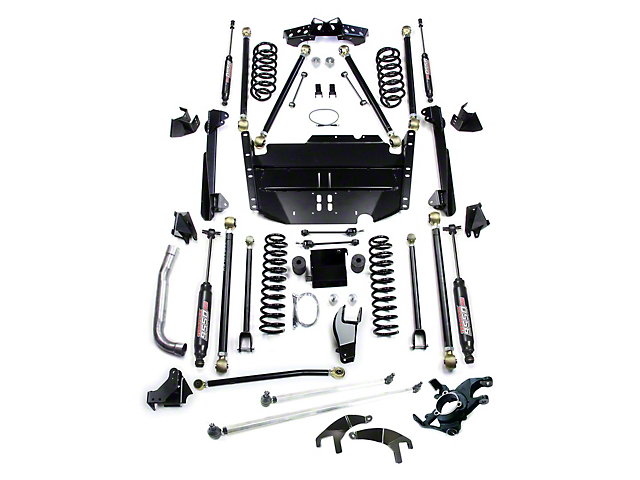 Teraflex 5 in. Pro LCG Lift Kit w/ High Steer & 9550 Shocks (97-06 Jeep Wrangler TJ)