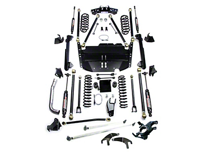 Teraflex 5 in. Pro LCG Lift Kit w/ High Steer & 9550 Shocks (97-06 Wrangler TJ)