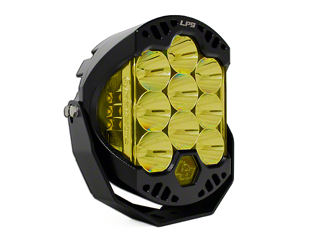 Baja Designs 8 in. LP9 Round Amber LED Light - Spot Beam