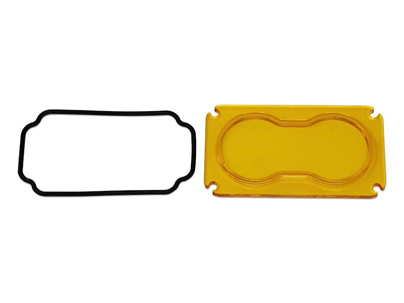 Baja Designs Amber S2 Series Spot Lens Kit (87-19 Jeep Wrangler YJ, TJ, JK & JL)