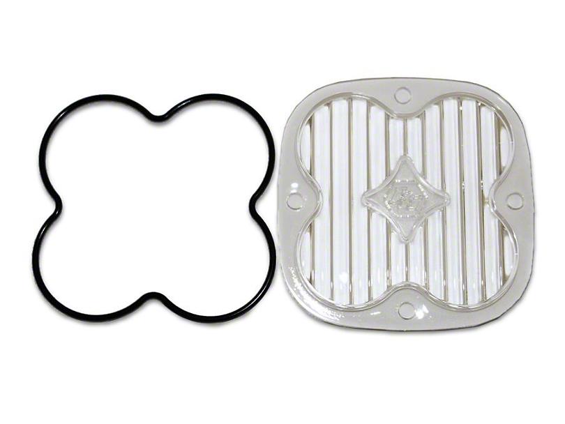 Baja Designs Squadron Series Wide Cornering Lens Kit (87-19 Jeep Wrangler YJ, TJ, JK & JL)