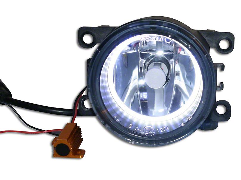 Delta 3.5 in. 3088 Series LED Bumper Fog Light Kit w/ Halos (07-18 Jeep Wrangler JK)
