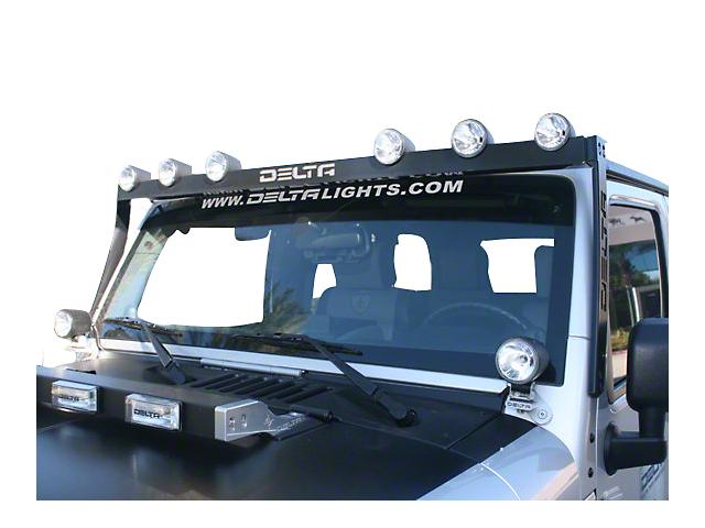 Delta Bullet H.I.D. SkyBar (07-19 Jeep Wrangler JK & JL)