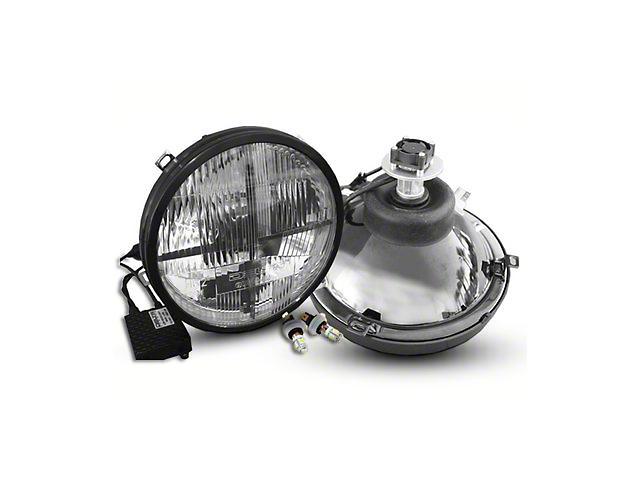 Delta Quad-Bar LED Headlights w/ LED Blinkers (07-18 Jeep Wrangler JK)