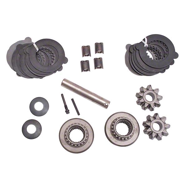 Omix-ADA DANA 35 Rear Spider Gear Kit w/ Disc Kit Trac Lok Differential (87-06 Wrangler YJ & TJ)