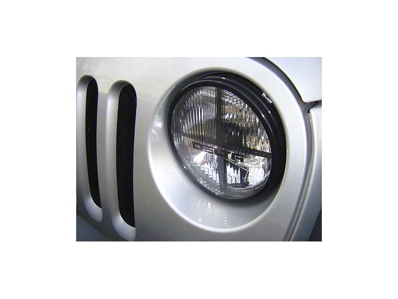 Delta Quad-Bar Xenon Headlights (07-18 Jeep Wrangler JK)