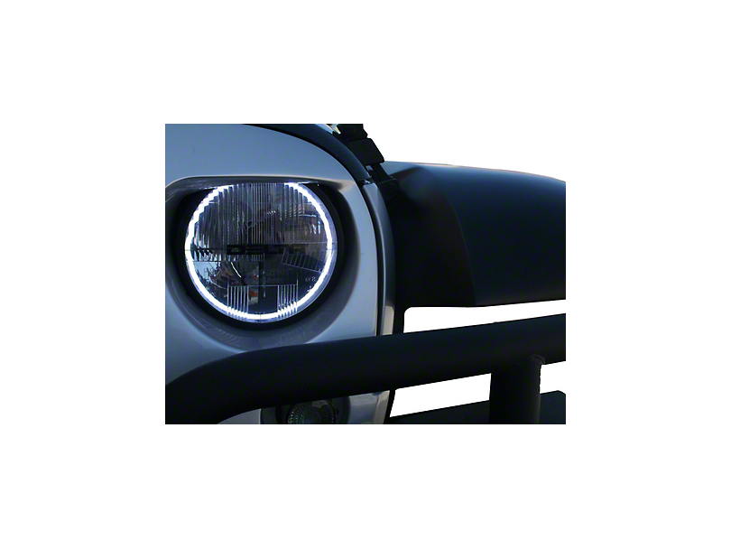Delta Quad-Bar Xenon Headlights w/Blinkers & Halos (07-18 Jeep Wrangler JK)