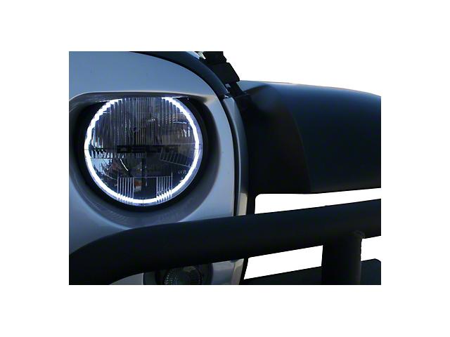 Delta Quad-Bar Xenon Headlights w/Blinkers & Halos (07-18 Jeep Wrangler JK)