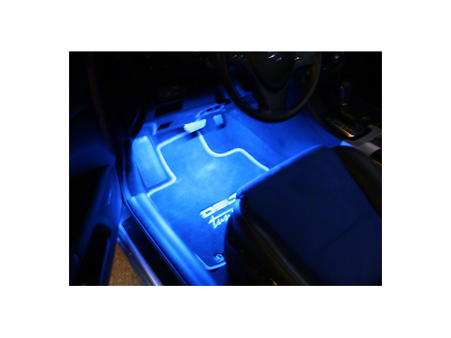Delta Floor Accent LED Light Strip - Blue (87-19 Jeep Wrangler YJ, TJ, JK & JL)
