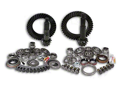 Yukon Gear Dana 30F/35R Ring Gear and Pinion Kit w/ Install Kit - 4.88 Gears (97-06 Wrangler TJ, Excluding Rubicon)