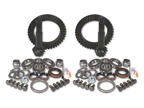 Yukon Gear Ring Gear and Pinion Kit w/ Install Kit - 4.56 Gears (07-18 Jeep Wrangler JK Rubicon)