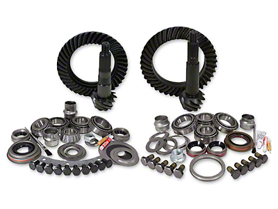 Yukon Gear Ring Gear and Pinion Kit w/ Install Kit - 4.56 Gears (07-18 Jeep Wrangler JK)