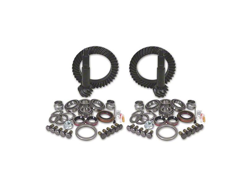 Yukon Gear Dana 44 Front Axle/44 Rear Axle Ring Gear and Pinion Kit w/ Install Kit - 4.56 Gears (03-06 Jeep Wrangler TJ Rubicon)