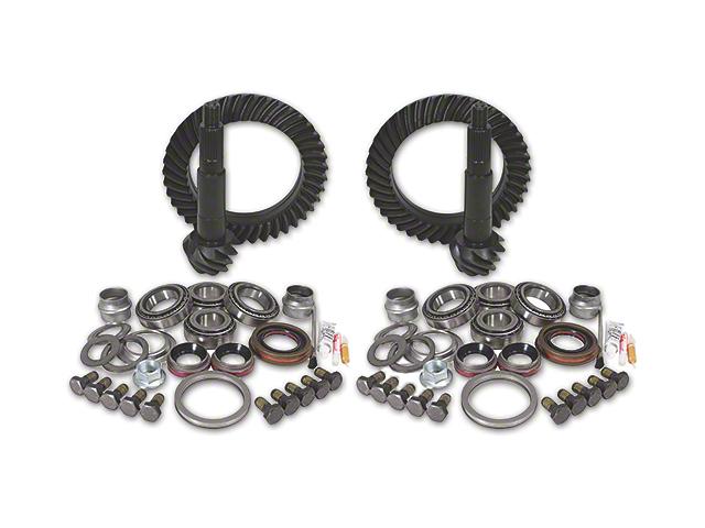 Yukon Gear Dana 44 Front Axle/44 Rear Axle Ring Gear and Pinion Kit w/ Install Kit - 4.88 Gears (03-06 Jeep Wrangler TJ Rubicon)