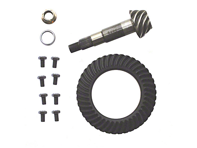 Dana 35 Rear Axle Ring Gear and Pinion Kit - 4.56 Gears (87-06 Jeep Wrangler YJ & TJ)