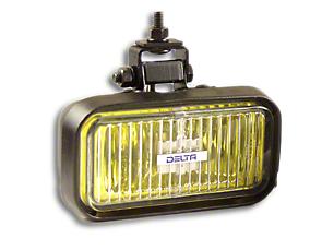 Delta 410 Flex Series Amber Halogen Fog Light (87-18 Wrangler YJ, TJ, JK & JL)
