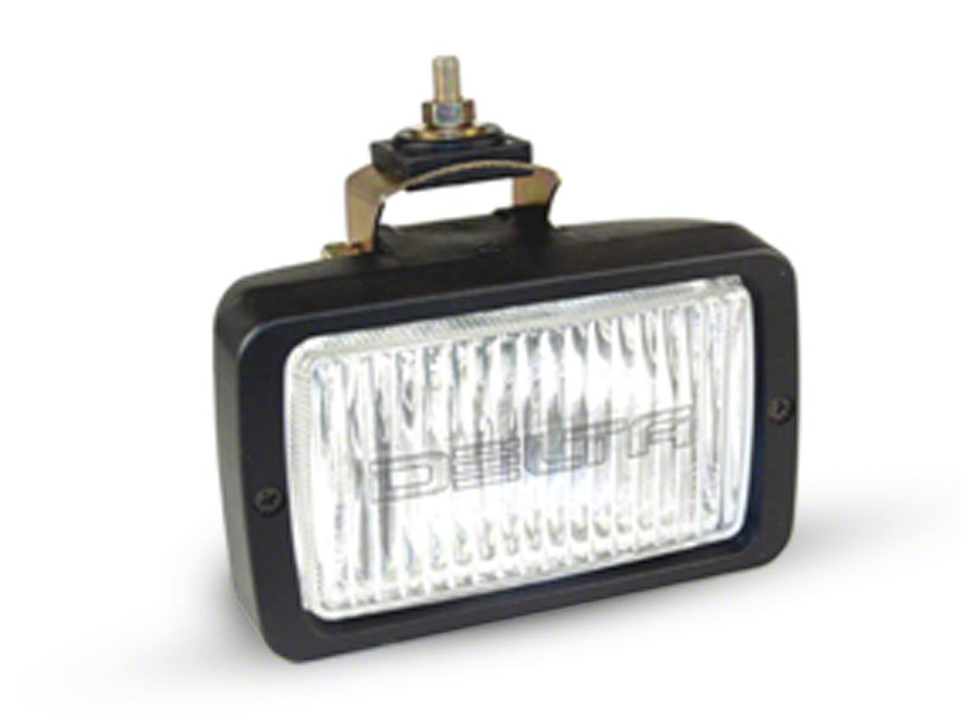 Delta 6x3.5 in. 260H Series Rectangular Fog Lights - Pair (87-18 Jeep Wrangler YJ, TJ, JK & JL)