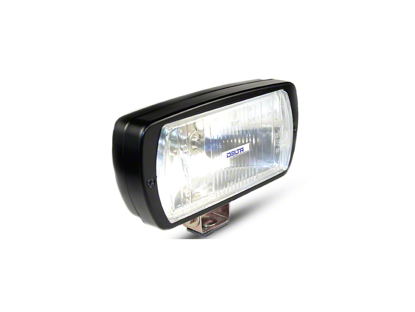 Delta 8x4 in. 220 Series Black Xenon Driving Light