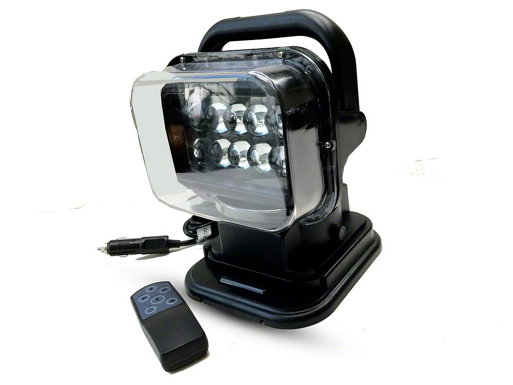 Delta Turret 360 Degree LED Spot Light w/ Remote Control