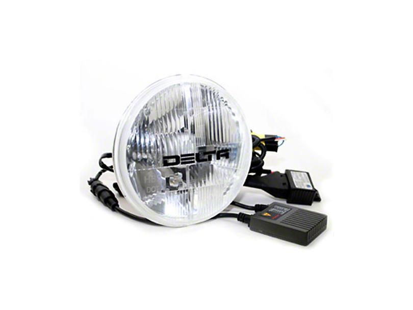 Delta 7 in. H.I.D. Headlights w/ City Light Kit (97-06 Jeep Wrangler TJ)
