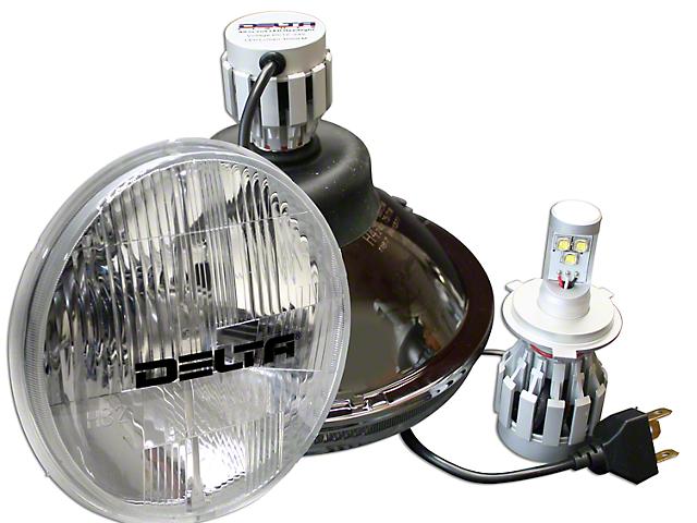 Delta 7 in. LED Headlights w/ LED Blinkers (97-06 Jeep Wrangler TJ)