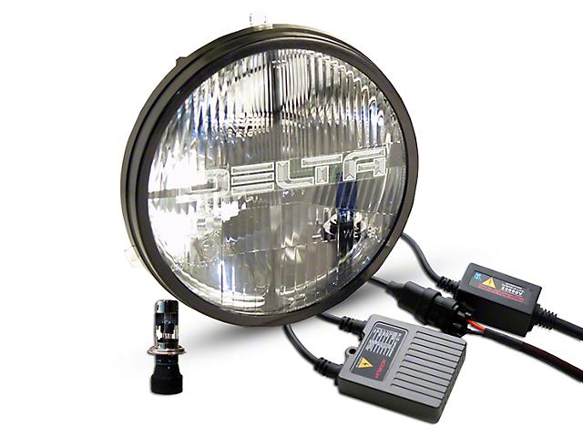 Delta Quad-Bar H.I.D. Headlights w/ Parking Lights (97-06 Jeep Wrangler TJ)