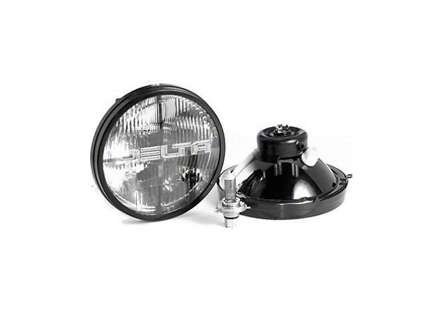 Delta Quad-Bar Halogen Headlights w/ Parking Lights (97-06 Jeep Wrangler TJ)
