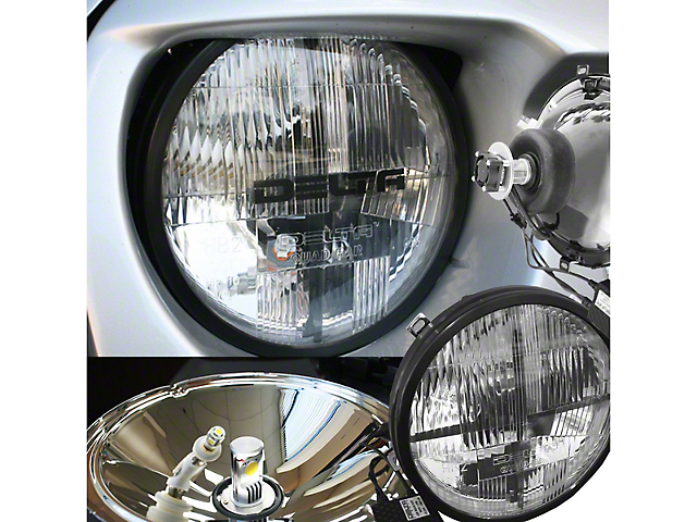 Delta Quad-Bar LED Headlights w/ LED Blinkers (97-06 Jeep Wrangler TJ)