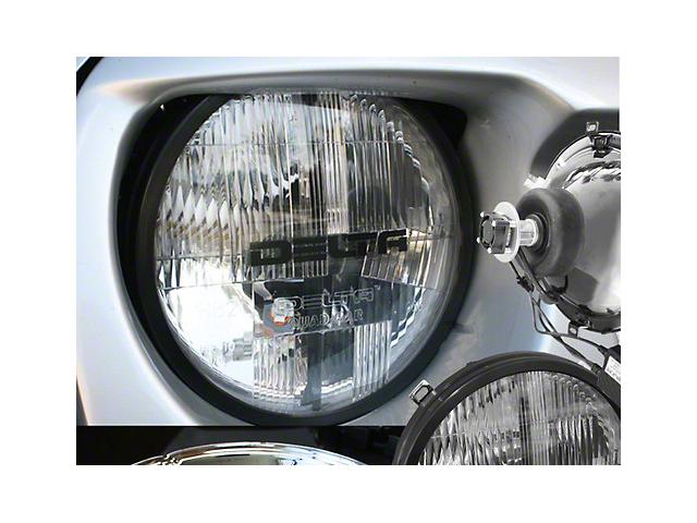 Delta Quad-Bar LED Headlights w/ LED DRL (97-06 Jeep Wrangler TJ)