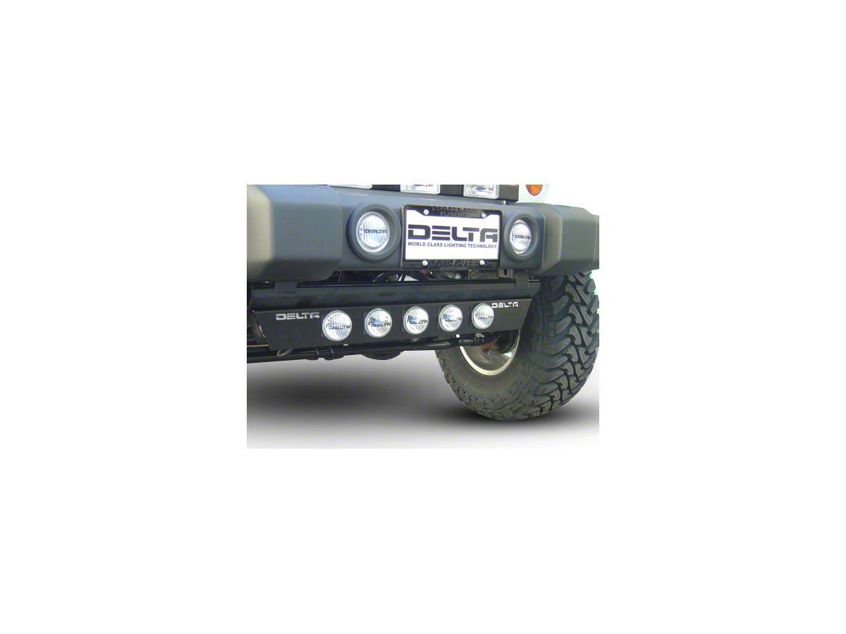Delta Combo Xenon Ground Light Bar w/ Rock Crawling Lights (97-20 Jeep  Wrangler TJ, JK & JL)