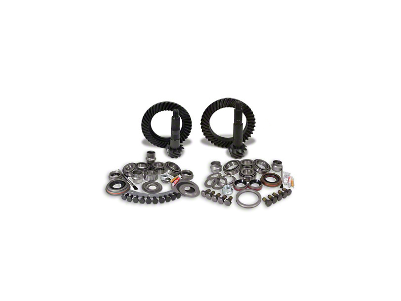 USA Standard Dana 30 Front Axle/44 Rear Axle Ring Gear and Pinion Kit w/ Install Kit - 4.88 Gears (97-06 Jeep Wrangler TJ, Excluding Rubicon)