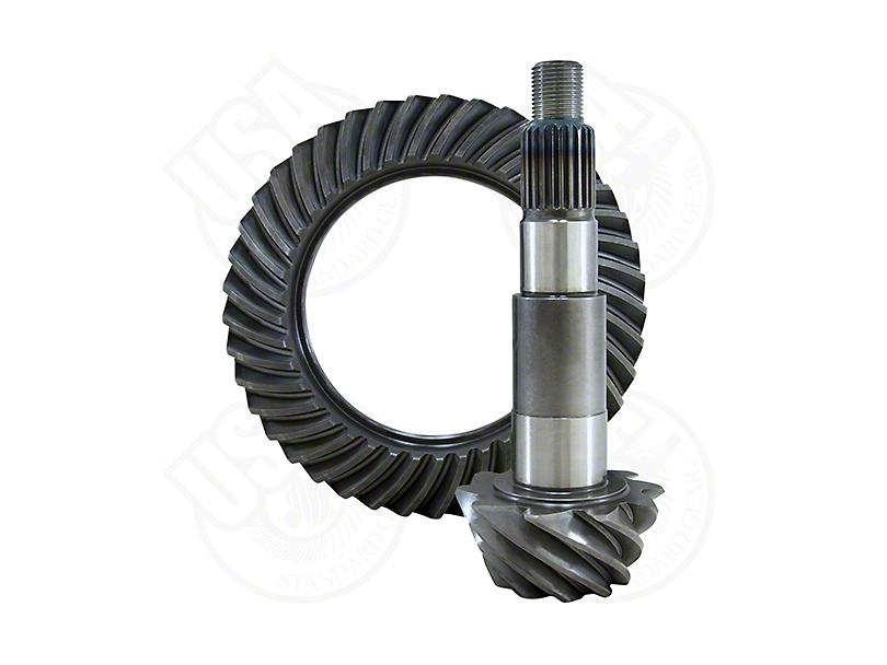 USA Standard Dana 44 Rear Axle Ring and Pinion Gear Kit; 4.56 Gear Ratio (07-18 Jeep Wrangler JK)