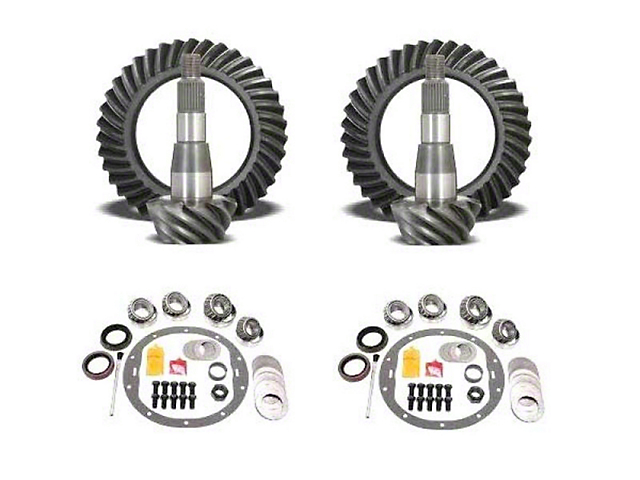 USA Standard Dana 44 Front Axle/44 Rear Axle Ring Gear and Pinion Kit w/ Install Kit - 4.88 Gears (03-06 Jeep Wrangler TJ Rubicon)