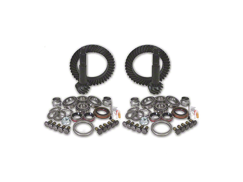 USA Standard Dana 44 Front Axle/44 Rear Axle Ring and Pinion Gear Kit with Install Kit - 5.13 Gear Ratio (03-06 Jeep Wrangler TJ Rubicon)