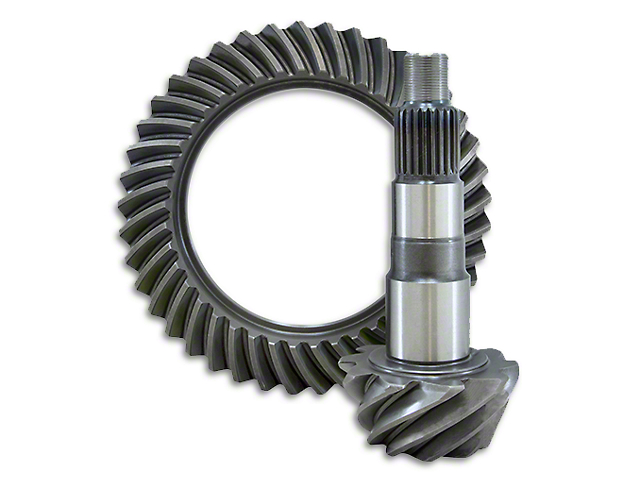 USA Standard Dana 44 Front Axle Ring and Short Pinion Gear Kit; 4.56 Reverse Gear Ratio (07-18 Jeep Wrangler JK Rubicon)