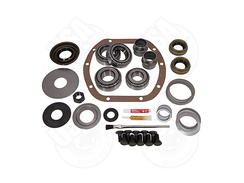 USA Standard Dana 30 Axle Short Pinion Front Axle Master Overhaul Kit (97-06 Jeep Wrangler TJ, Excluding Rubicon)