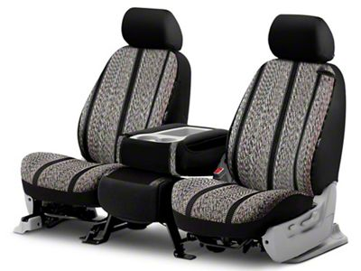 Fia TRS49-54 GRAY TRS40 Solid Wrangler Solid Gray Seat Cover Front Bucket Seats//Saddle Blanket