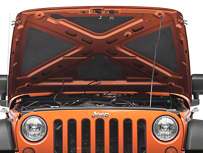 DEI Under Hood Thermal Acoustic Lining (87-18 Jeep Wrangler YJ, TJ, JK & JL)