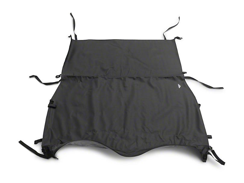 MasterTop Bimini Top Plus - Black Diamond (97-06 Jeep Wrangler TJ)