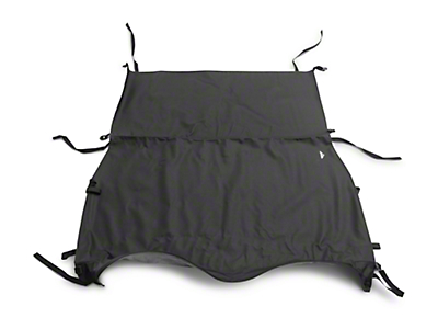 MasterTop Bimini Top Plus - Black Diamond (97-06 Wrangler TJ)