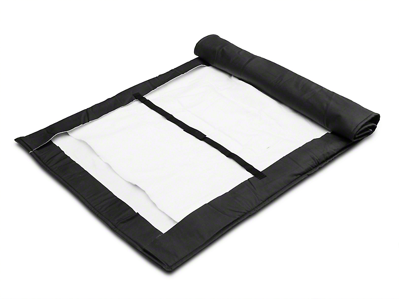 MasterTop Soft Top Protection Window Roll - Black (87-18 Jeep Wrangler YJ, TJ, & JK)